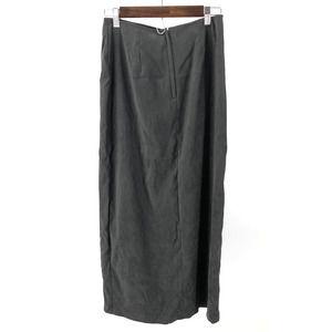 Vintage Studio C Skirt Gray Midi Women's Size 8